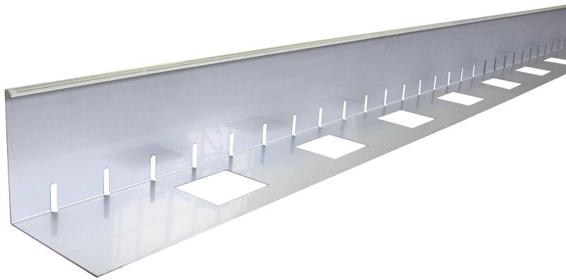 Polyrattan Gartenmobel Discount : WfW Shop  Kiesfangleisten Aluminium oder Edelstahl 75 mm Höhe