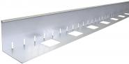 Kiesfangleisten Aluminium oder Edelstahl 75 mm Höhe