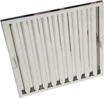 Flammschutzfilter Typ B Breiten 350 mm