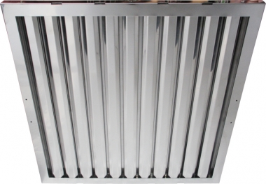 Flammschutzfilter Typ A Breiten 350 mm