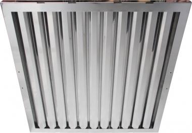 Flammschutzfilter Typ A Breiten 250 mm