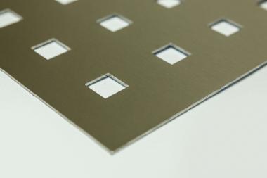 Lochbleche Edelstahl 2 mm mit verschiedenen Mustern