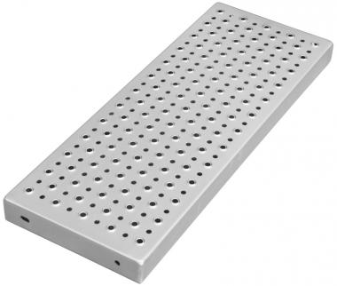 Stufenlänge 1000 mm Edelstahl
