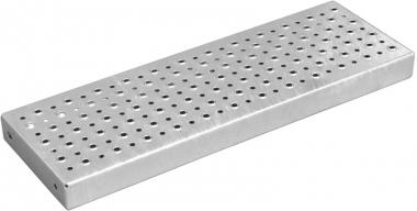 Stufenlänge 800 mm feuerverzinkt 800x275 mm