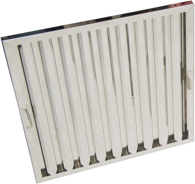 Flammschutzfilter Typ B Breiten 500 mm