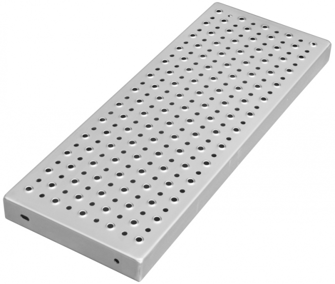 Stufenlänge 1100 mm Edelstahl